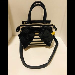 Betsey Johnson bow detailed purse